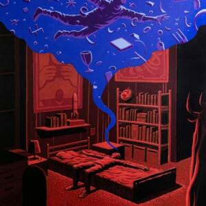 "Anada Dream <br> 100x73 cm -Acrylique sur lin <br> <span style=""color: darkgreen"";>DISPONIBLE</span>"