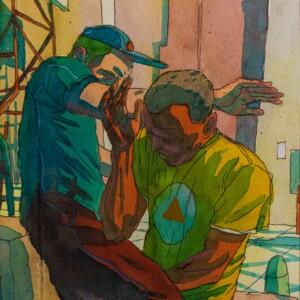"""OLIVIER BONHOMME – Chorégraphique<br> <span style=""""color: darkgreen"""";>DISPONIBLE</span>"""