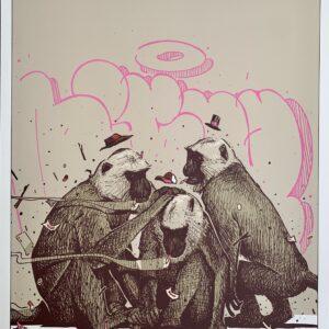 """DIFUZ – Les Trois Singes<br> <span style=""""color: darkgreen"""";>DISPONIBLE</span>"""