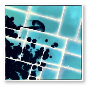 "Infusion #4<br>  Techniques mixtes- 60x60 cm-2021<br> <span style=""color: darkred"";>Plus DISPONIBLE</span>"