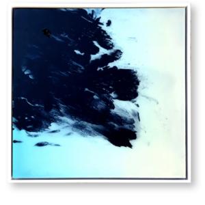 """Mazout<br>  Techniques mixtes- 60x60 cm-2021<br> <span style=""""color: darkgreen"""";>DISPONIBLE</span>"""