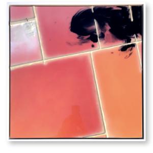 "Infusion #3<br>  60x60 cm-Techniques mixtes- 2021<br> <span style=""color: darkred"";>Plus DISPONIBLE</span>"