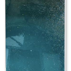 """Eau calme<br>  Techniques mixtes- 100x170 cm-2021<br> <span style=""""color: darkgreen"""";>DISPONIBLE</span>"""
